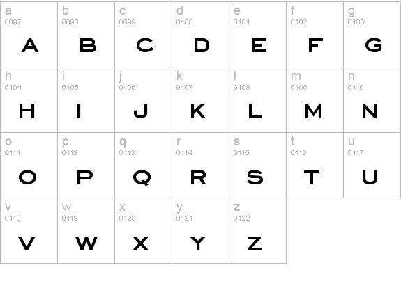 Fontsmarket com details of eyechart bold font